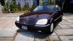 Mercedes-Benz 600SEC C140 1992 v1.0
