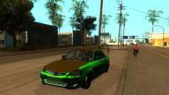 ВАЗ 2170 зелёный для GTA San Andreas