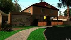 Новый дом CJ на Grove Street для GTA San Andreas
