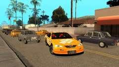 Toyota Camry Nascar Edition для GTA San Andreas