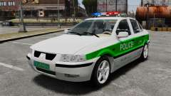 Iran Khodro Samand LX Police