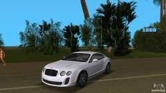 Bentley Continental Supersport для GTA Vice City