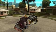 Kenworth W900 SALVAGE TRUCK