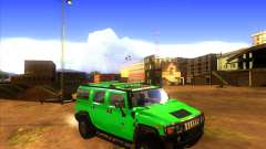 Hummer H2 updated для GTA San Andreas