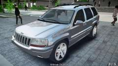 Jeep Grand Cheroke для GTA 4