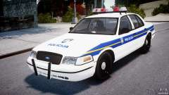 Ford Crown Victoria Croatian Police Unit