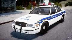 Ford Crown Victoria Croatian Police Unit для GTA 4