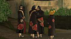 The Akatsuki gang для GTA San Andreas