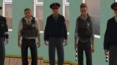 Скин пак российского ОВД для GTA San Andreas