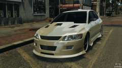 Mitsubishi Lancer Evolution VIII v1.0 для GTA 4