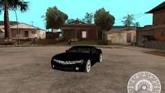 Chevrolet Camaro Concept чёрный для GTA San Andreas