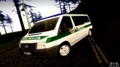 Ford Transit Policija для GTA San Andreas