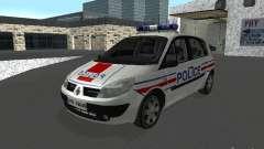 Renault Scenic II Police для GTA San Andreas