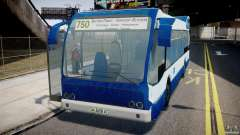 DAF Berkhof City Bus Amsterdam