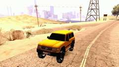 Toyota Land Cruiser 80 Off Road Rims для GTA San Andreas