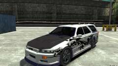 Nissan Stagea R34 GT-R для GTA 4