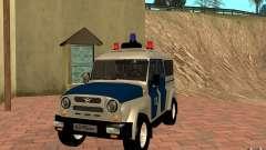 Бобик УАЗ-3159 Милиция v.2