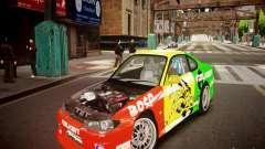 Nissan Silvia S15 Boso Drift Formula D M-Design для GTA 4