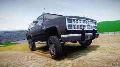 Chevrolet Blazer K5 Stock для GTA 4