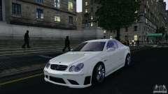 Mercedes-Benz CLK63 AMG для GTA 4
