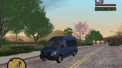 Mercedes-Benz Sprinter 2500 High Roof Passenger для GTA San Andreas