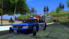 Ford Crown Victoria Belling State Washington police patrol для GTA San Andreas