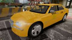 Chrysler 300c 3.5L TAXI FINAL для GTA 4