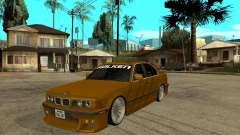 BMW e34 Drift Body для GTA San Andreas