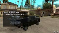 ELM v9 for GTA SA (Emergency Light Mod) для GTA San Andreas
