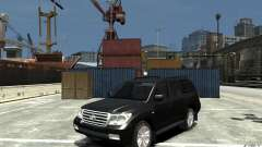 Toyota Land Cruiser 200 для GTA 4