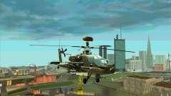 Apache AH64D Longbow для GTA San Andreas