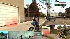 CLEO скрипт: Мототюнинг и мотофристайл для GTA San Andreas