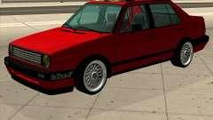 Volkswagen Jetta 1987 Eurostyle для GTA San Andreas