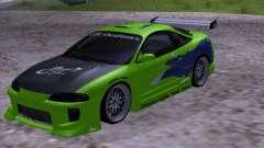 Mitsubishi Eclipse 1998 - FnF для GTA San Andreas