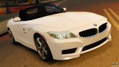 BMW Z4 sDrive 28is 2012 v2.0 для GTA 4