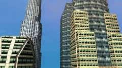 Новые текстуры небоскрёбов Downtown