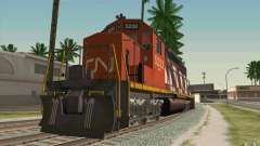 CN SD40 ZEBRA STRIPES для GTA San Andreas