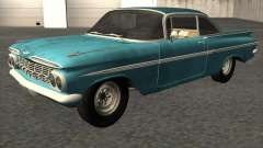 Chevrolet Impala Coupe 1959 Used для GTA San Andreas