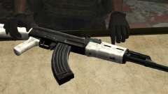 Snow AK47 (Снежный АК47) для GTA San Andreas