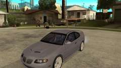 2005 Pontiac GTO для GTA San Andreas