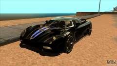 Koenigsegg Agera 2010 для GTA San Andreas