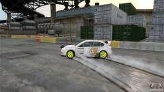 Subaru Impreza WRX STI Rallycross DC Gold Vinyl для GTA 4