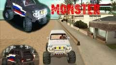 VAZ-21213 4x4 Monster для GTA San Andreas