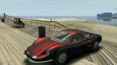 Ferrari Dino 1969 для GTA 4