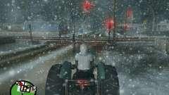 Снегопад для GTA San Andreas