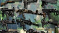 Набор оружия из Far Cry 3 для GTA San Andreas