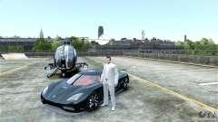 Koenigsegg Agera R для GTA 4