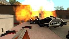 CLEO скрипт: Пулемёт в GTA San Andreas