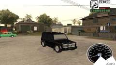 Mercedes-Benz G500 FBI для GTA San Andreas