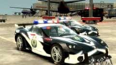 Chevrolet Corvette Z06 Police